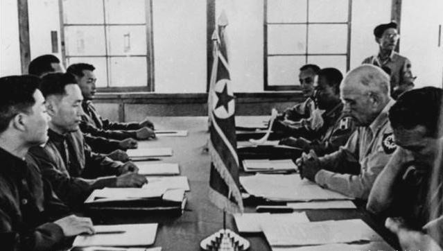 百年刹时|《朝鲜寝兵协议》