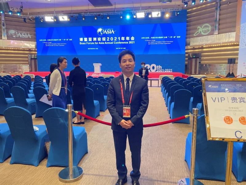 【学习强国】博鳌亚洲论坛青年代表文泽平:后疫情时代的中国青年担当