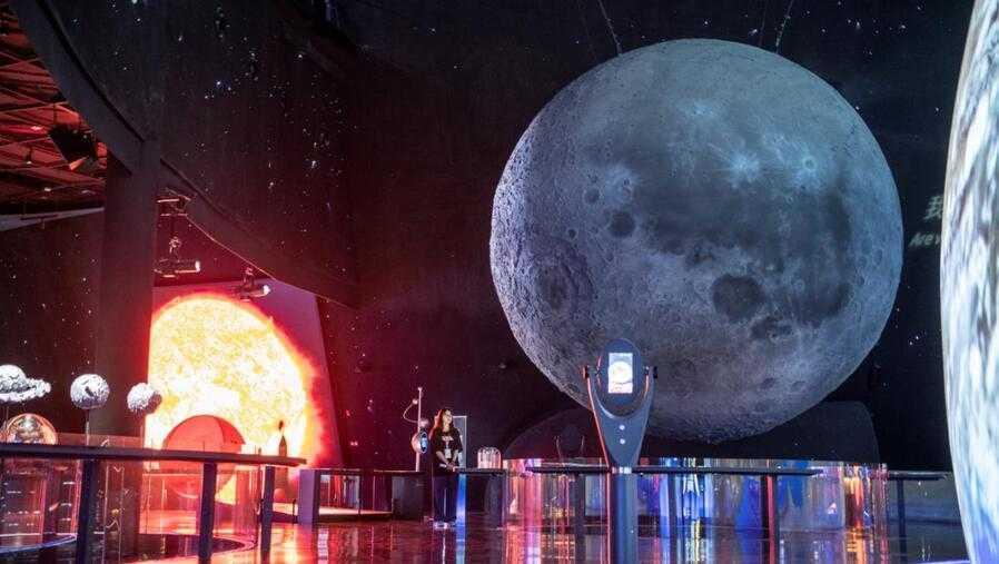 上海天文馆揭开神秘面纱,900多亿光年的宇宙浓缩于一馆