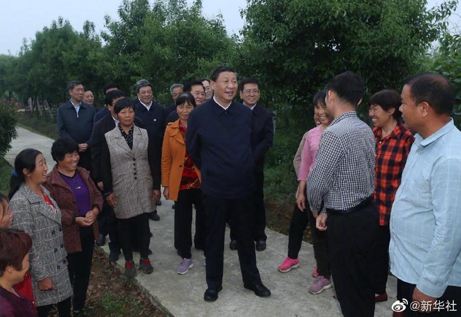 習近平:共產黨打江山、守江山,守的是人民的心