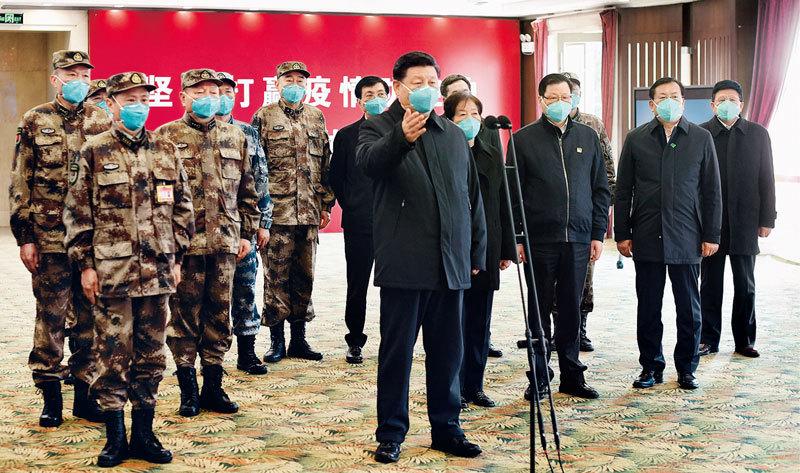 习近平:为打赢疫情防控阻击战提供强大科技支撑